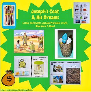 Bible Fun For Kids: Genesis: Joseph's Dreams and His Colorful Coat