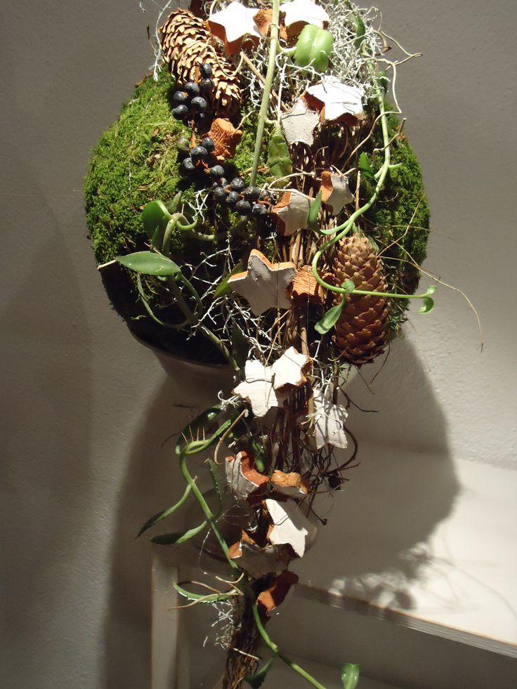 Weihnachtliches Objekt 2014 Design: Hansjörg Renner, Blumen Renner Lörrach