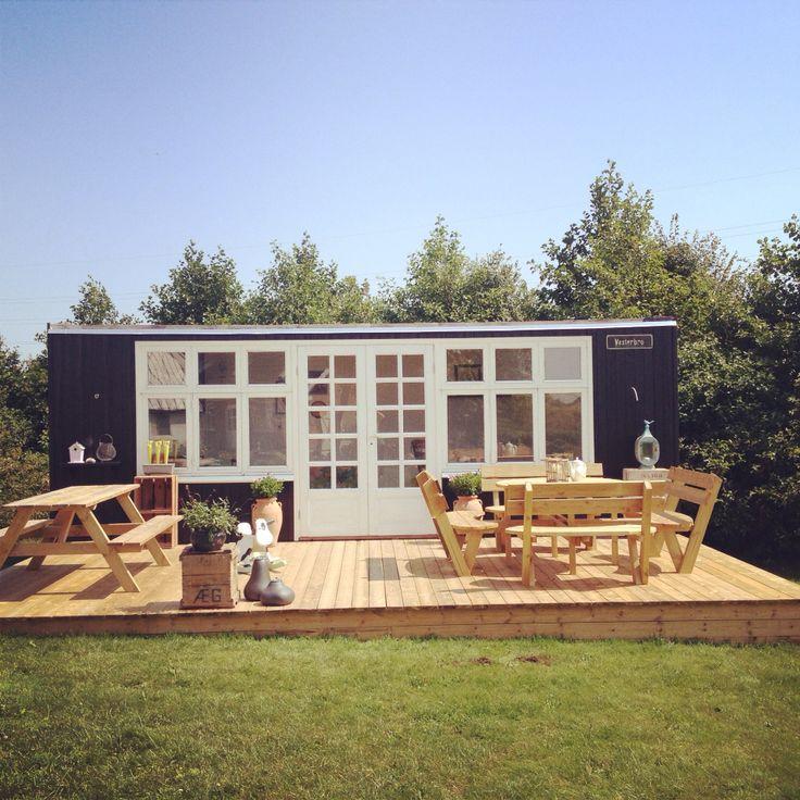 Skurvogn renoveret- havehyggehus