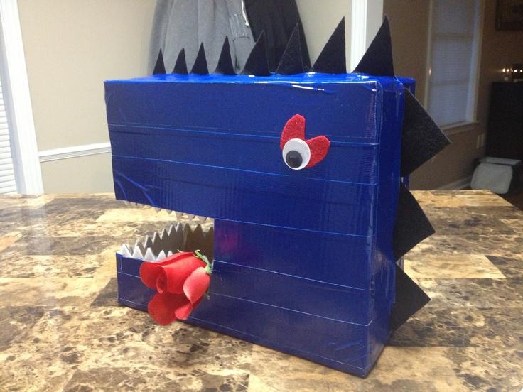 Love Dino Valentine Box!