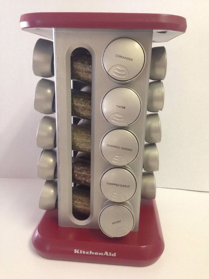 Kitchen Aid Red Revolving Spice Rack | EBay | Kitchen Ware | Pinterest |  Revolving Spice Rack, Kitchen Ware And Ware F.C.