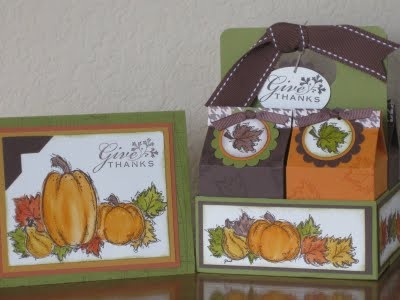 Narrowroad stamping: Thanksgiving Teacher Gift and class gifts