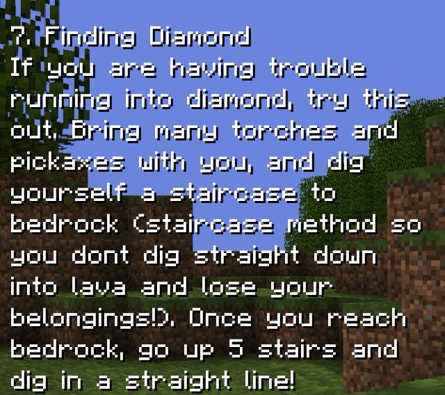 Minecraft Pocket Edition Tips