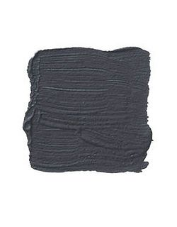 benjamin moore iron mountain. Almost Black with a touch of gray