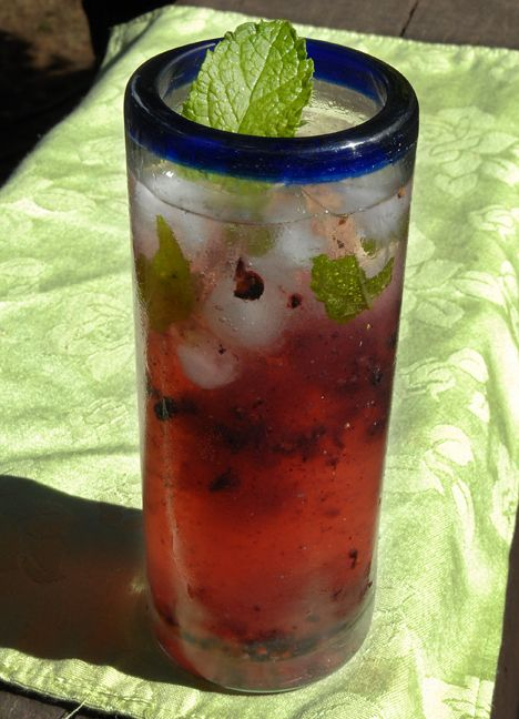 Blackberrry gin and tonic | Ladies and the food | Pinterest