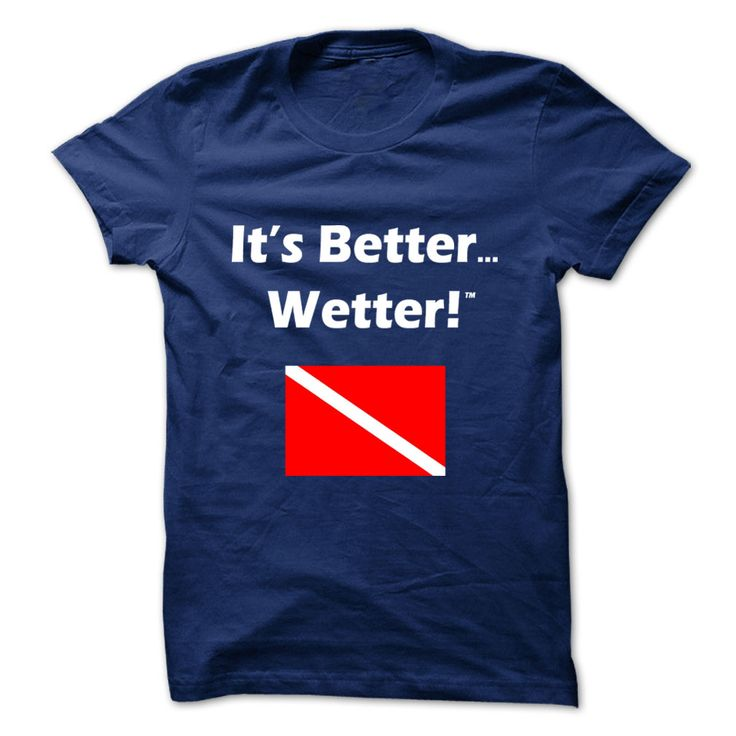 IBW Diver Down Flag T-Shirts, Hoodies. Get It Now ==> https://www.sunfrog.com/Sports/IBW-Diver-Down-Flag-Shirt-NavyBlue-Guys.html?id=41382