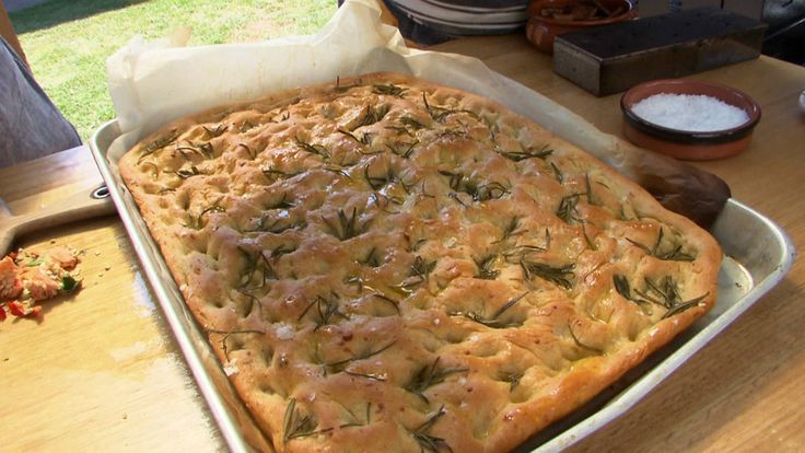 Focaccia by Andre Ursini on Poh & Co.