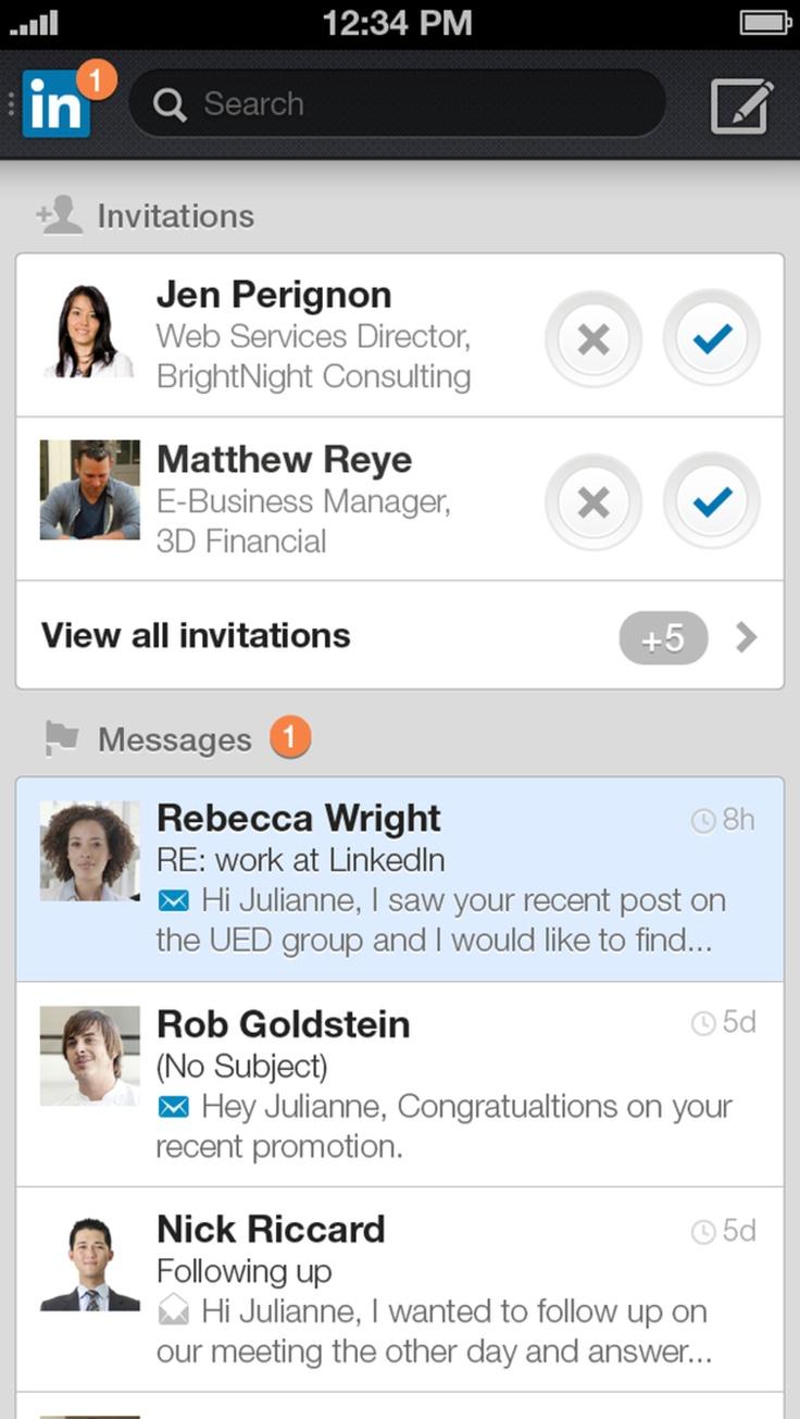 LinkedIn updatet mobiele apps en experimenteert met advertenties | Want.nl