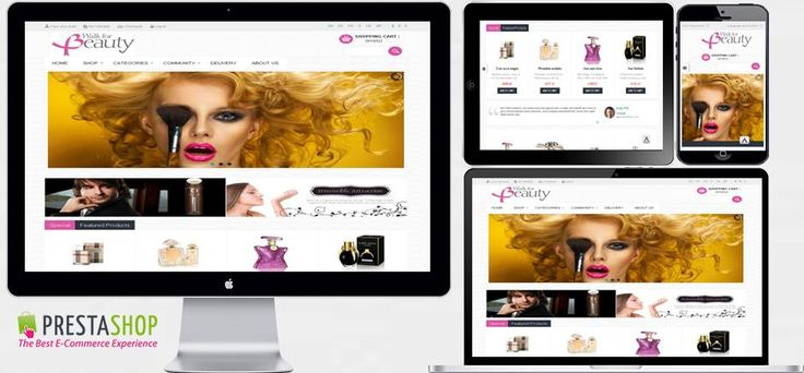 Beauty Prestashop 1.5.x  by sasbn