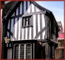 The 12th century Royal oak pub in Chesterfield England. I used to live there.