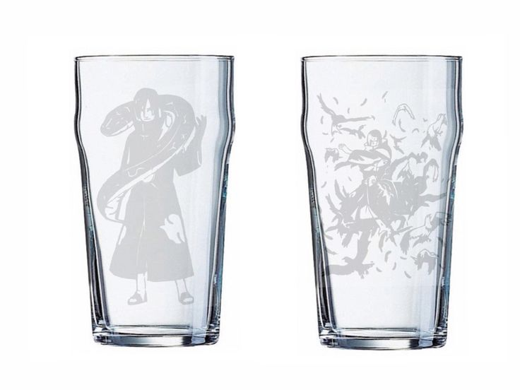 Naruto Themed Etched Glasses by EmbellishedBirthdays on Etsy https://www.etsy.com/listing/286806555/naruto-themed-etched-glasses