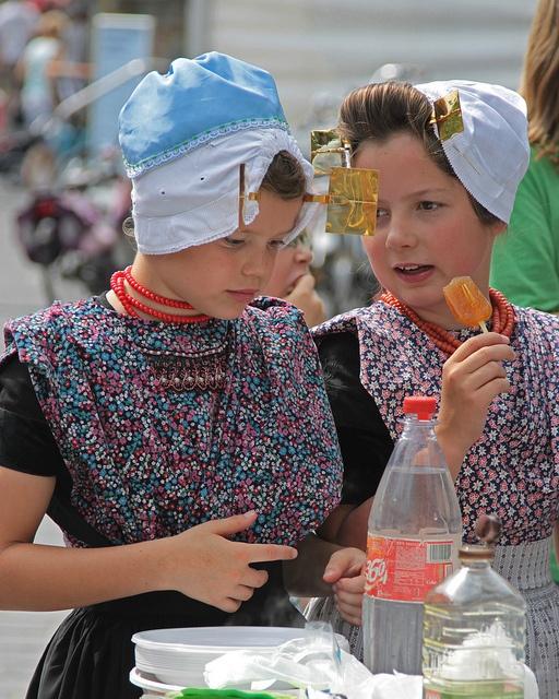 Kinderen in klederdracht  Goes 2010