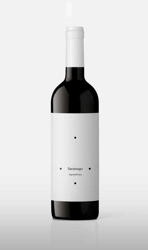Saramago. Portuguese red wine.