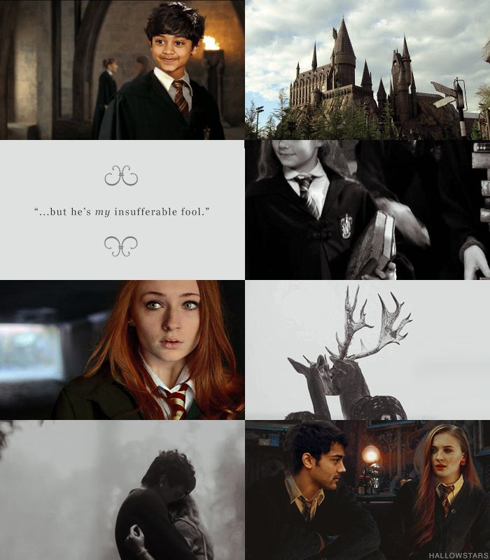 Sophie Turner as Lily Evans, Manish Dayal as James Potter and Rohan Chand as Young James. #refresh the fancast
