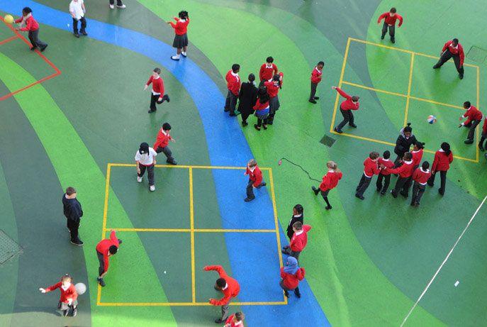 Playground Charlotte Sharman Primary School