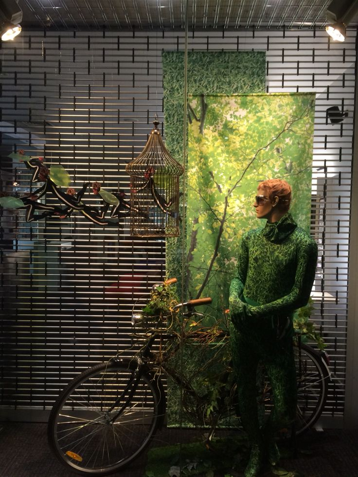 "GATES OPTOMETRIST, Newmarket, Auckland, New Zealand, "" As Green As Grass"", created by Ton van der Veer"