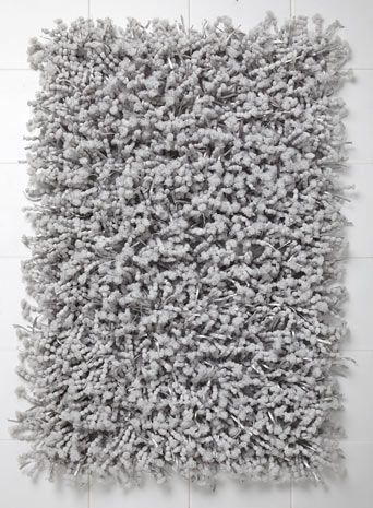 Grey Pom Pom Bath Mat Bath mat sets, Bath mat, Rugs