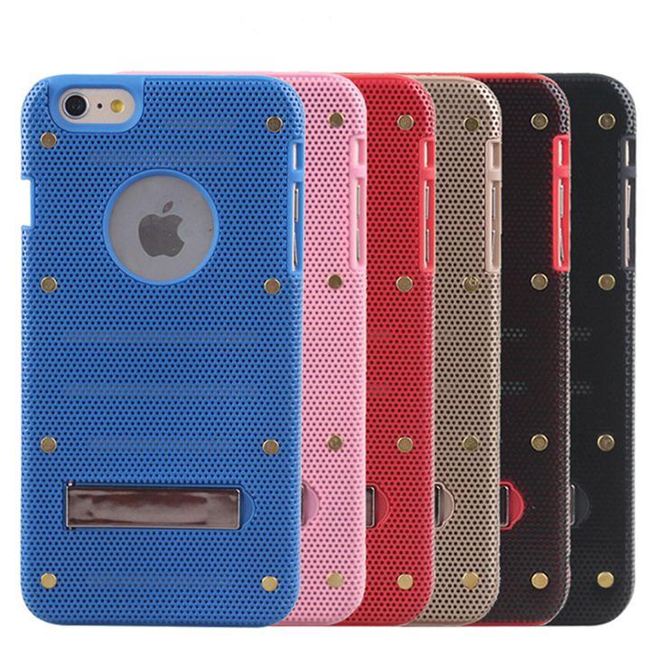 Сетка дизайн случай мобильного телефона для iphone 6 4.7 дюймов мобильного телефона защитный чехол красочные
