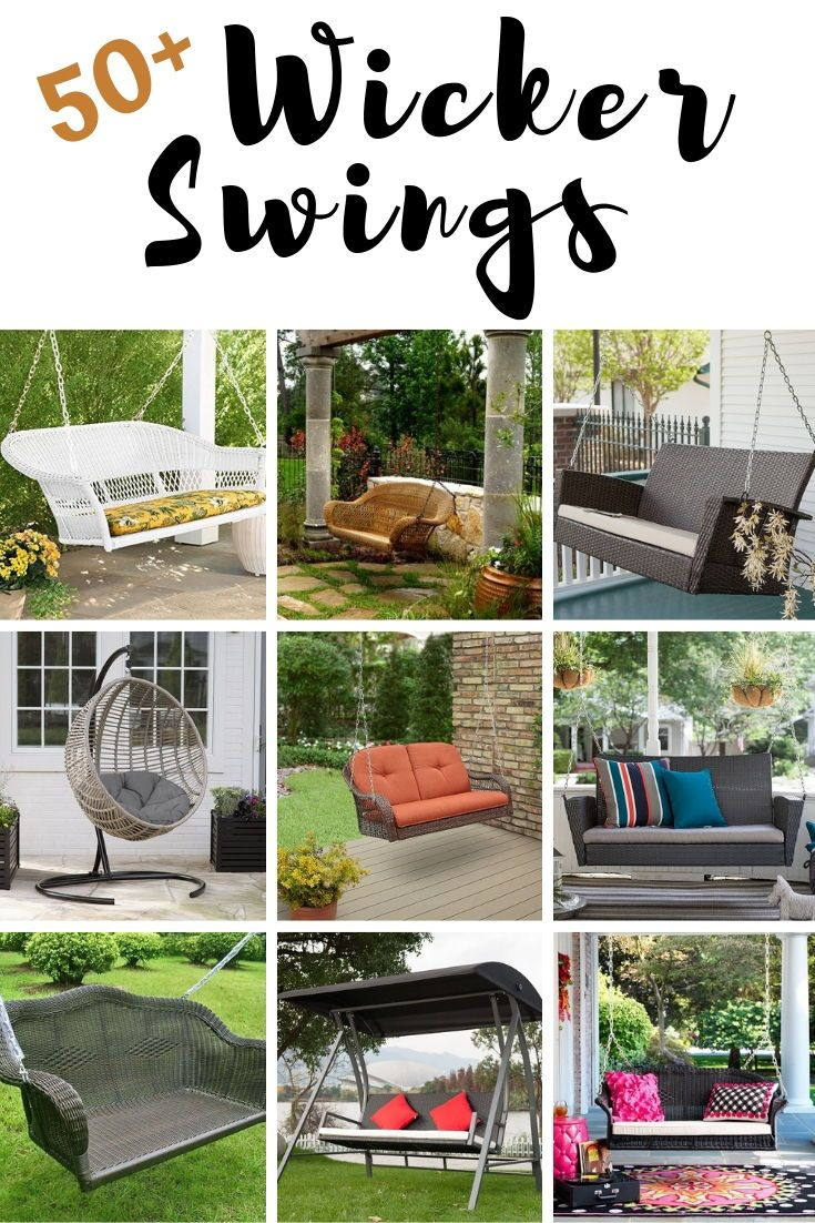 Discover The Best Wicker Swings And Top Rated Outdoor Porch You Can For Your Beach Home