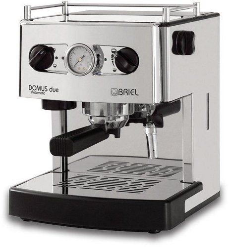Briel ES161ACTB Domus Due, Stainless Steel - http://www.teacoffeestore.com/briel-es161actb-domus-due-stainless-steel/