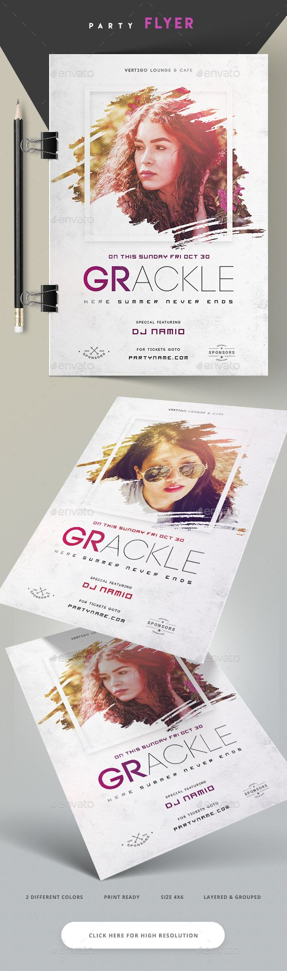 Lounge Party Flyer  — PSD Template #saturday #hip hop • Download ➝ https://graphicriver.net/item/lounge-party-flyer/18153353?ref=pxcr
