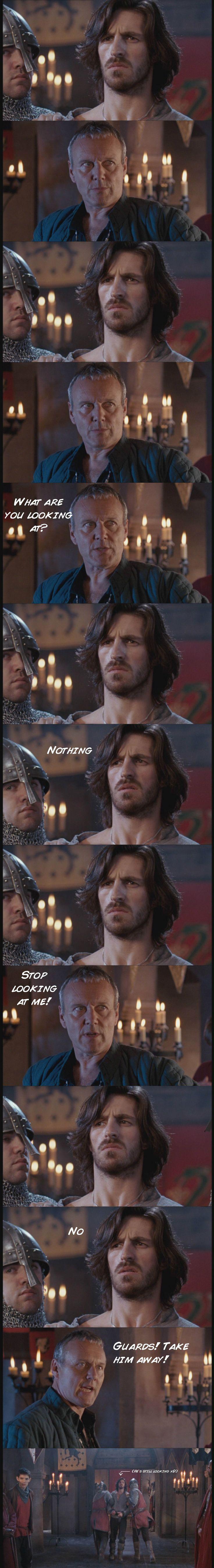 Merlin #Gwaine #Uther Gwaine and Uther by ~berniwidow on deviantART