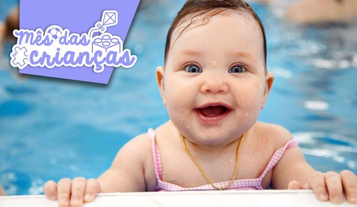 #MêsDasCriançasPullaBulla Quase toda criança gosta muito de brincar na água.  Com o calor chegando, nada melhor do que ficar numa piscina refrescante com nossas fofuras não é?  Para tornar a piscina um lugar ainda mais divertido, aqui vão algumas dicas legais de brincadeiras para fazer com o seu filho!!