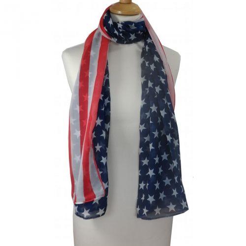 Leuk sjaaltje met Amerikaanse vlag / Nice scarf with American flag € 6,95 International shipping? Just ask!