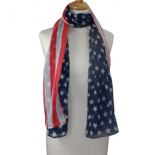 Leuk sjaaltje met Amerikaanse vlag / Nice scarf with American flag € 6,95 International shipping? Just ask!