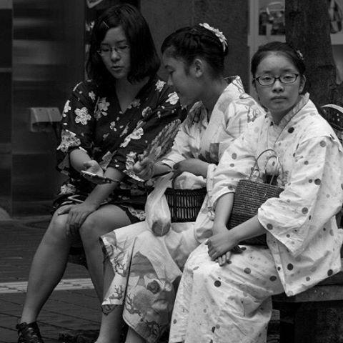 Reposting @jerfareza: Children wearing yukata during Tanabata Festival in Sendai. . #festival #tanabata #japan #七夕 #liburan #instagood #blackandwhite #monochrome #bestjapanpics #yukata #japanese #仙台 #sendai #summer #happy #city #portrait #白黒 #浴衣 #祭り #fun #streetphotography