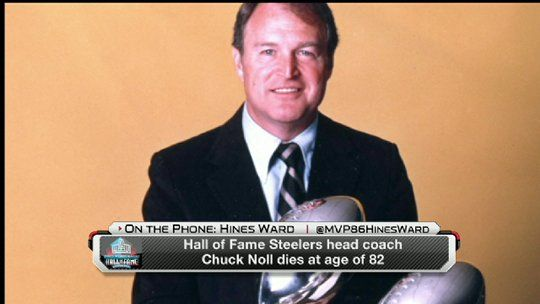 Hall of Fame coach Chuck Noll, 82