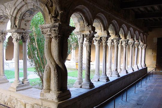 La cathédrale Saint-Sauveur abrite l'un des plus jolis cloîtres de France. Admirablement rénové, ce cloitre du second Art roman provençal, construit à la fin du XIIe siècle présente une abondante décoration faite d'animaux fabuleux, de feuillages, d'anges et de démons.