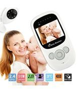 Baby Monitor Camera Wireless 2.4GHz Digital Color LCD Night Vision Audio... - $59.60