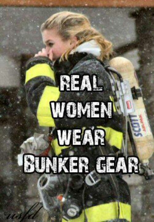 yes we doo ! and just cause you have a pair doesnt make you a fire fighter !!