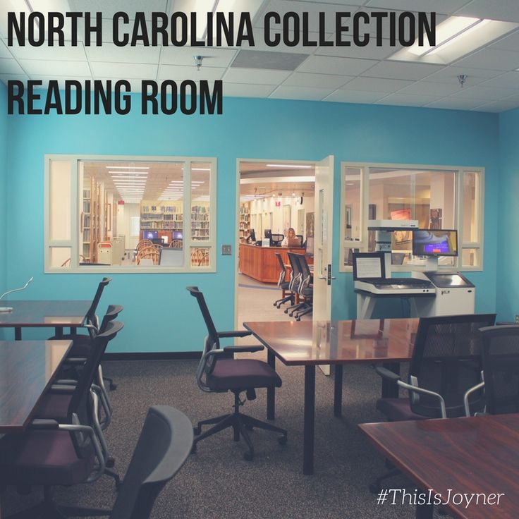 The North Carolina Collection Research Room is used by students studying manuscripts, rare books, and more within the University Archives and the North Carolina Collection.  It is located on the third floor of Joyner Library at ECU #ECU #JoynerLibrary #ThisIsJoyner