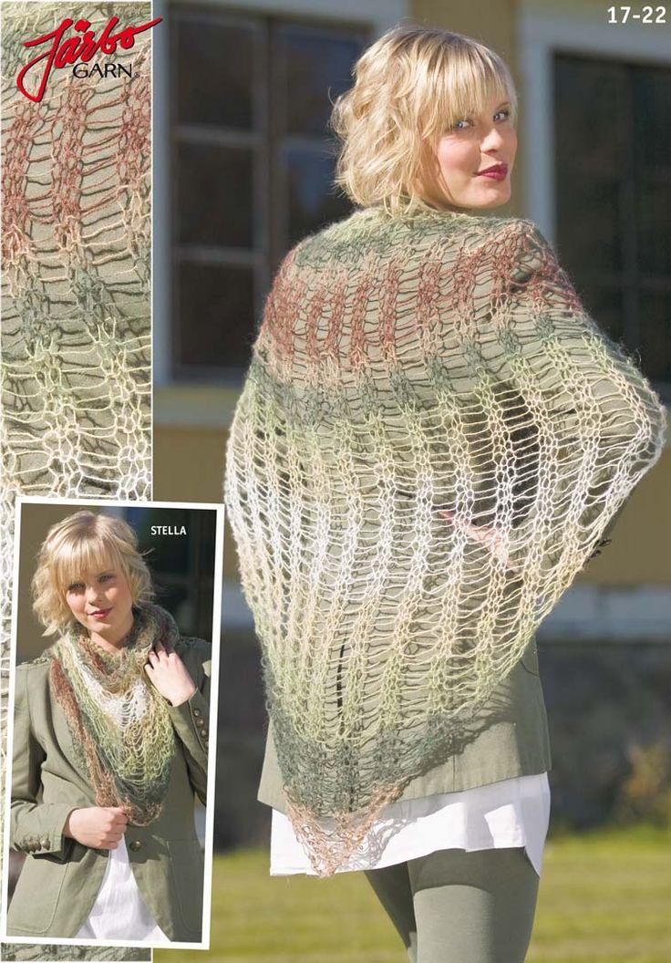 Lovely summer shawl.