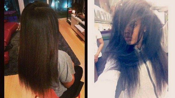 Angela Simmons Shares Long Hair Secrets (Her natural hair)