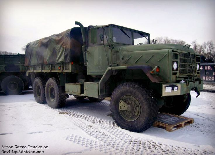 Looks like the one on The Walking Dead! A M923A2 5-Ton, 6x6, Cargo Truck with a 14ft Dropside Cargo Body. Find Military Vehicles on GovLiquidation!