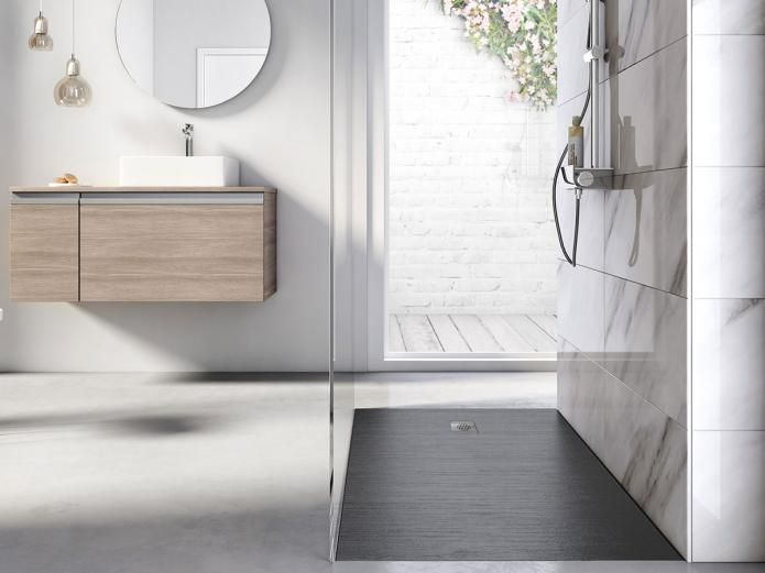 The Cyprus Stonex Shower Floor range, is a revolution in shower flooring. Designed using innovative Stonex material and formed as one solid base to seamlessly integrate as a continuation of the current bathroom floor. Combining safety and aesthetics with a contemporary textured finish, including an anti-slip feature, shower safety is heightened without compromising on function or appearance.