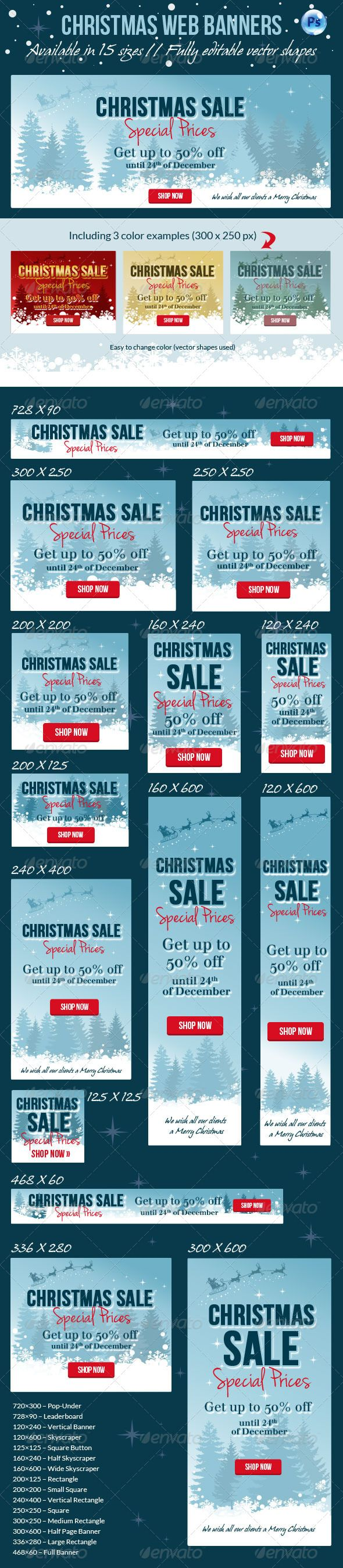 Christmas Web Banner Template PSD | Buy and Download: http://graphicriver.net/item/christmas-web-banner/6304851?WT.ac=category_thumb&WT.z_author=corrella&ref=ksioks