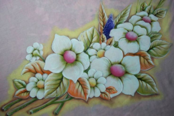 Arranjo de Flores e Margaridas