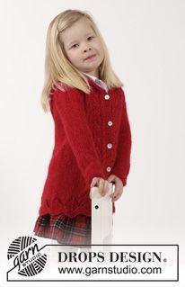 Vest met kabels breien voor kinderen