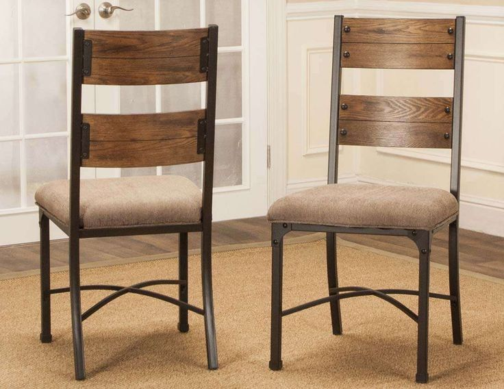 Lowest price on Sunset Trading Rustic Elm Taupe, Black and Brown Industrial Side Chair - Set of 2 CR-W3075-01-2. Shop today!