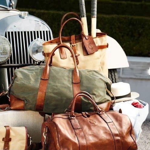 Ralph Lauren weekender bags