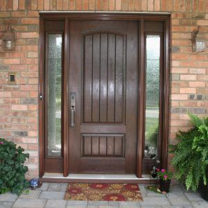 Exterior Fiberglass Doors With Sidelights