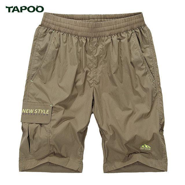 Tapoo Summer Solid Leisure Men Shorts Casual Quick-Drying Shorts Trousers Pantalones Cortos Mkd1267