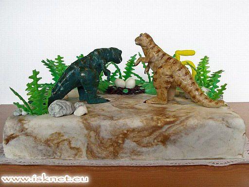 Torta Dinosaurus _ Dinosaur _ Jedinečné a unikátne torty od Ivanky a Slavomíra * Unique cakes * Jedinečné a unikátní dorty