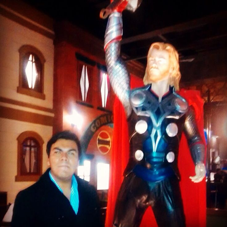 El momento mas feliz de mi vida!!!   #Thor #Marvel #Comicx