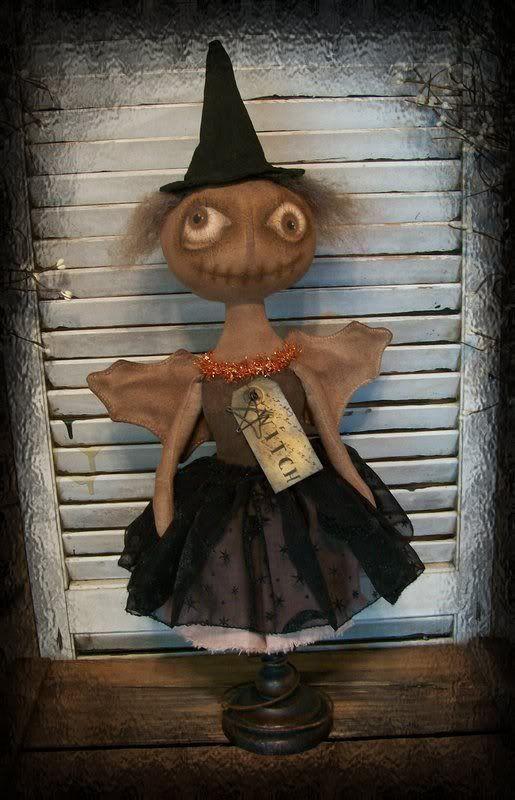 Brenda Jett Sanker Primitive Folk Art Dolls: Past Work