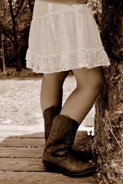 You can never go wrong with a dress and boots.: Farms, Dresses, Posts, Boots, Country